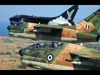 Fly low hit HARD A7-Corsair Hellenic Air Force