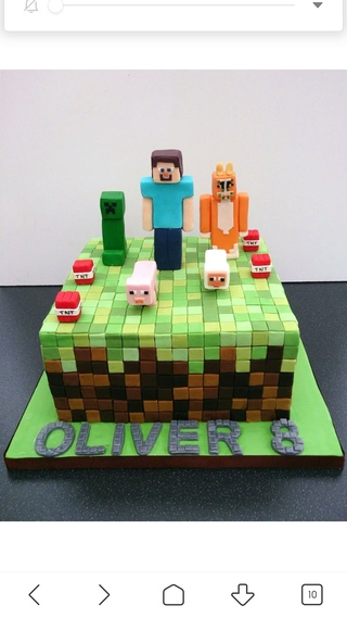 торт в майнкрафт #7