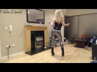 crossdresser/tgirl model claire bunni #2 - rock chic/chick looks modeling
