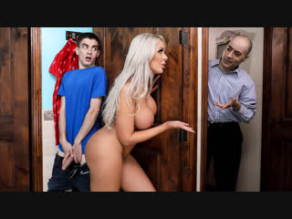 Nina Elle - They Feel Real To Me Brazzers. Big Ass, Big Tits, Incest, MILF