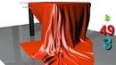 Модификатор Cloth 👗 Ткань в 3DS MAX 🙫 Создание ткани Моделирование скатерти Интерьер Урок 49