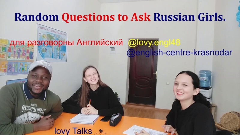 13 Random Questions To Ask Russian 10th one is the most Important Part 1