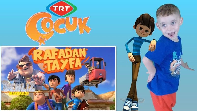 Emir ile Rafadan Tayfa Dehliz Macerası Sinema Filmi İzledik | Afacan Baby