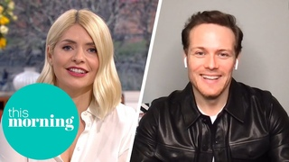 Holly's Favourite Scottish Hunk, Outlander's Sam Heughan Is Back!  | This Morning
