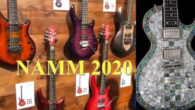 Caparison Music Man Zemaitis NAMM 2020