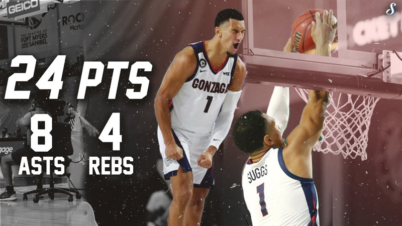 Jalen Suggs Couldn t Be Stopped In Freshman Debut Full Highlights 11.26.20 24 Pts 8 Ast 4 Rebs!