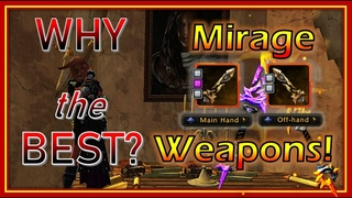 WHY Mirage Weapons are BEST Damage Weapons? How Much So? Comparing against Lionheart - Neverwinter