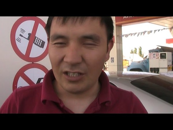Oilmen of the state of Kazakhstan against the Russophobic policy of Nazarbayev and for joining Russi