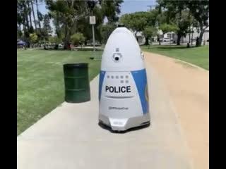 В Южной Калифорнии на службе органов появился Робокоп
