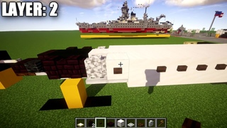 Minecraft: Modern Warfare T-38A Talon | Trainer Jet Tutorial (Landed + In-Flight Versions)