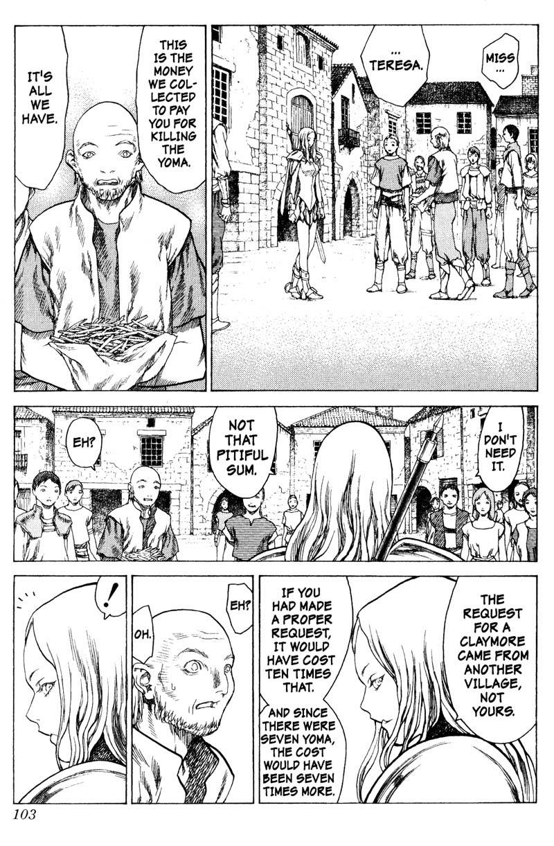 Claymore, Chapter 13, image #6