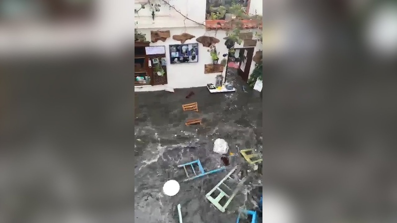 Ջրհեղեղ Իզմիրում՝ հզոր երկրաշարժից հետո