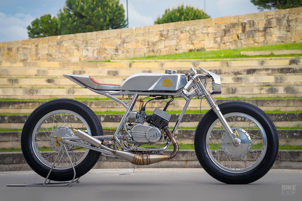 C.Custom Garage: кастом Yamaha RD200