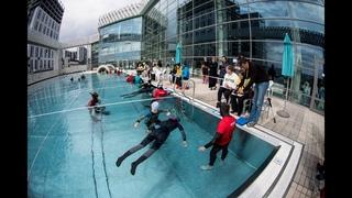 Чемпионат России по фридайвингу в бассейне 2021 – 1 день, статика STA (трансляция Instagram)