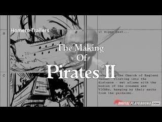 +18 Pirates 2 PORN Parody: behind the scenes XXX SFW day 1