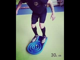Упражнение на баланс и координацию