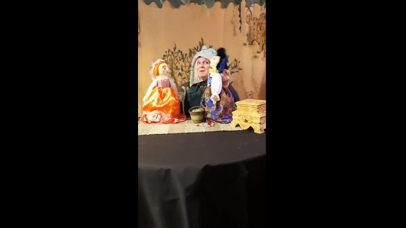 спектакль для семейного просмотра Подарки феи от театра Картонный дом