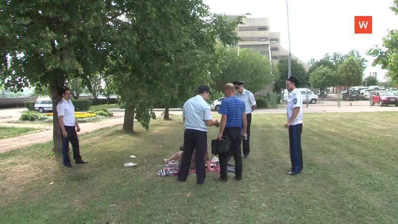 Выборгским полицейским помогают два отряда ДНД