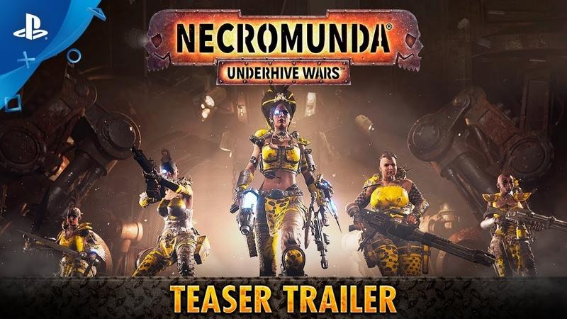 Necromunda Underhive Wars Teaser Trailer PS4