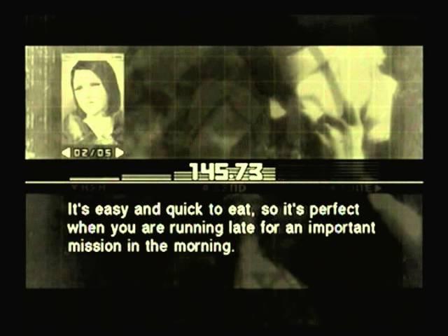 Metal Gear Solid 3 Para Medic's Survival Guide 03 Calorie Mate