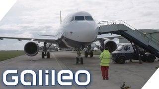 Flugzeugteile vom Schrottplatz: Wie sicher sind sie? | Galileo | ProSieben