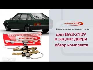 Стеклоподъемники ФОРВАРД для ВАЗ-2109, -21099, -2114, -2115 в задние двери. Обзор комплекта