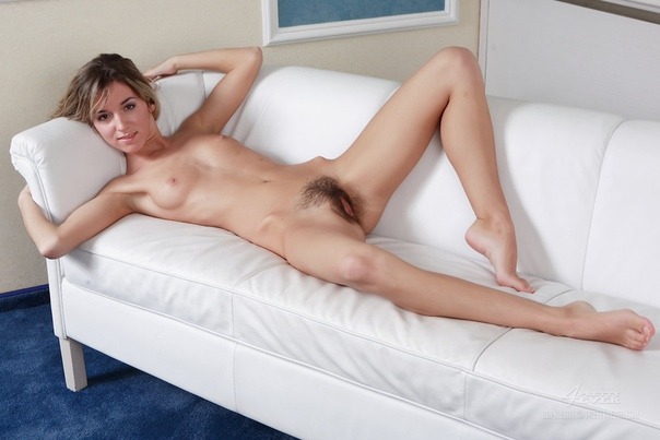 Skinny Teen Brunette With Tiny Tits And Hairy Slit Is Too Horny To Skip Masturbating