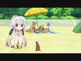 Anime.webm kobayashi-san chi no maid dragon, ricardo milos
