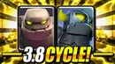 THIS IS LIKE CHEATING! GOLEM MINI PEKKA CYCLE CAN'T BE COUNTERED!! Clash Royale Golem Deck