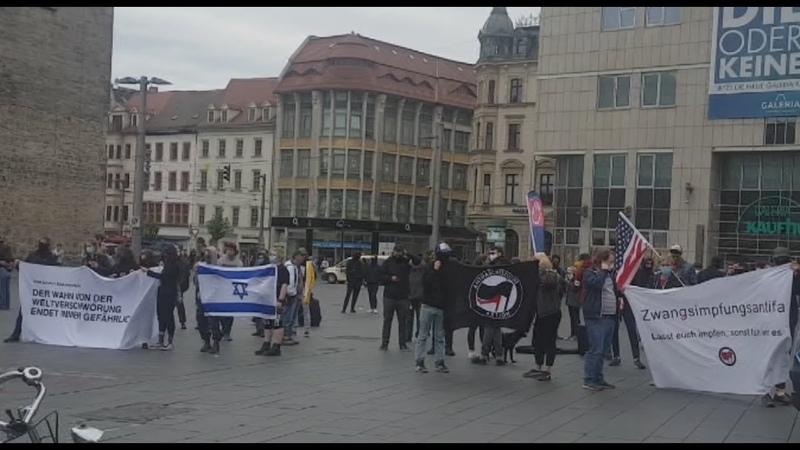 Stiller Protest Halle Saale 23 Mai 2020