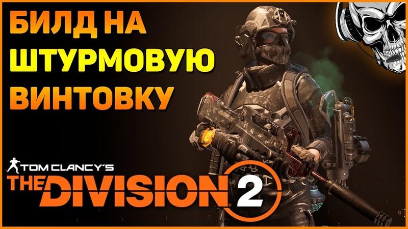 Универсальный билд на штурмовую винтовку The Division 2 ☠️ Большой урон неплохая выживаемость