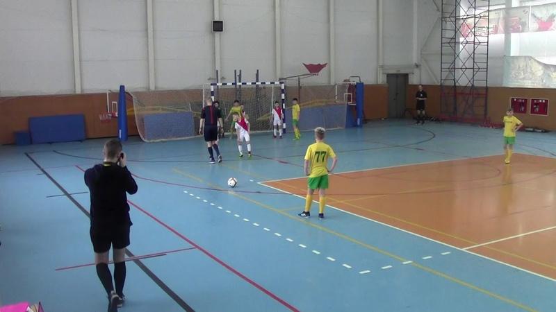 18 19 Кубок 2007 Фаэтон ДЮСШ 08 1 тайм