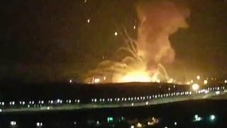 Мощный взрыв в Иордании произошел вблизи города Эз-Зарка.