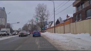 Из года в год путь автомобилистам в Одинцово расчищают за счёт пешеходов