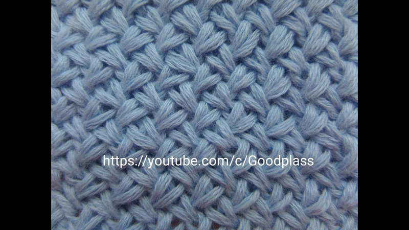 Узор Мелкая плетенка Вязание спицами Knitting Hobby