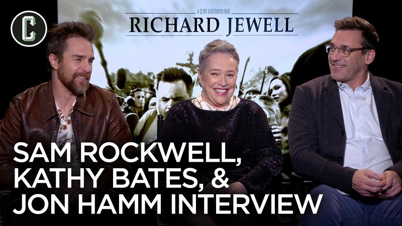 Richard Jewells Kathy Bates, Sam Rockwell and Jon Hamm on Working with Clint Eastwood