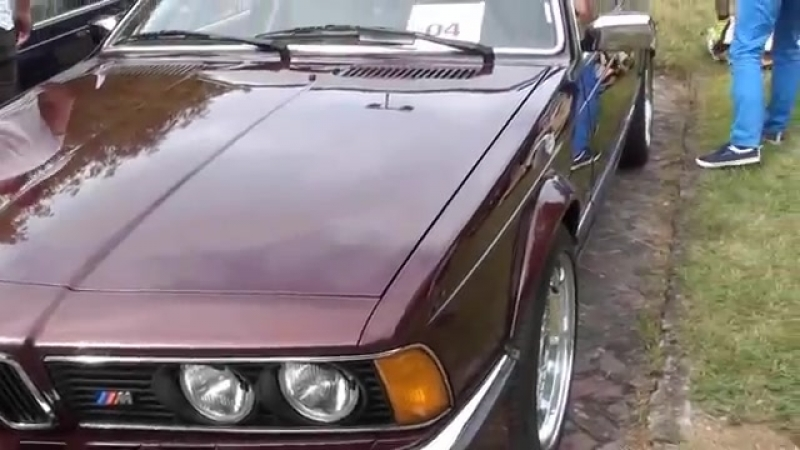 BMW e21 e23 e24 V Zlot ORR Kazimierz Dolny 8 10 lipca 2016 cz1