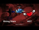 Rising Stars vs HGT, WPC-ACE League, Day 2, game 1