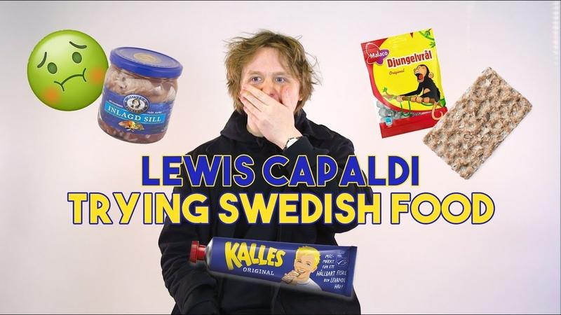 Pickled herring can suck my **** Lewis Capaldi
