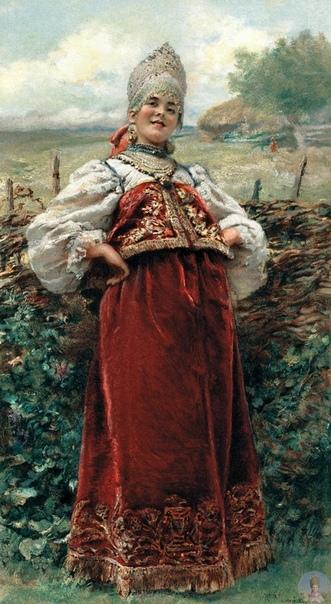 Константин Егорович Маковский (1839-1915) - русский живописец. Кисти Маковского принадлежит самое большое станковое полотно в России картина «Воззвание Минина к нижегородцам», которую он писал