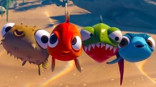 Я РЫБА #5 Финал Океанариум. Зубастик Пиранья Глазастик, Фуга, Летучая и Золотая рыбка в I Am Fish
