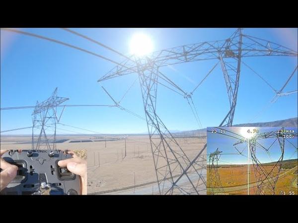 Drone vs 800 000V ⚡️