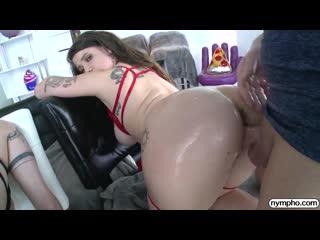 Aria Kai and Indica Flower [All Sex, Hardcore, Blowjob, Threesome, POV, Big Tits]