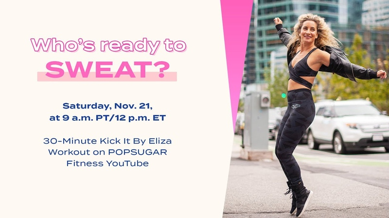 30 минутная кардио тренировка с Элайзой. 30 Minute LIVE Kick It By Eliza Workout