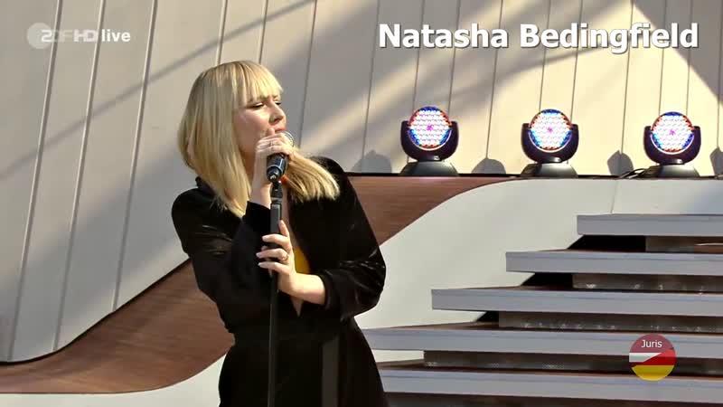 Natasha Bedingfield - Unwritten (ZDF-Fernsehgarten 15.09.2019)