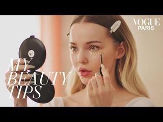 Романтический взгляд Дав Камерон днем и ночью | Мои советы по красоте | Vogue Paris