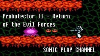 Probotector II - Return of the Evil Forces ➤ Прохождение / Longplay ➤ (NES / Famicom / Dendy)