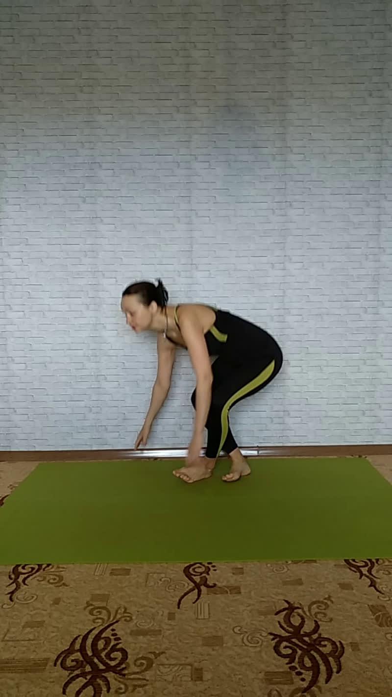 Утренняя практика #хатха#йога#йогасюлиейереминой. Прямой эфир.