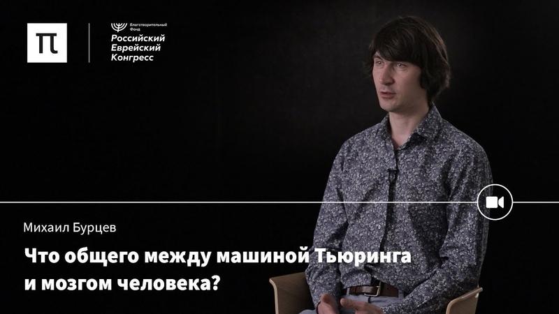 Рождение кибернетики Михаил Бурцев