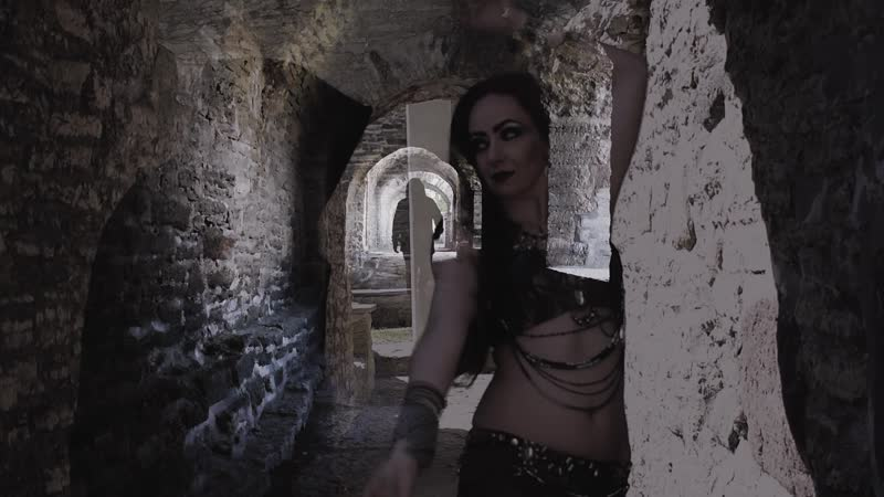 "A small part of promo from Underworld"" music track video clip with my dear friend Berit Aicha Vill 🎼💃🌙⚔️🔮"